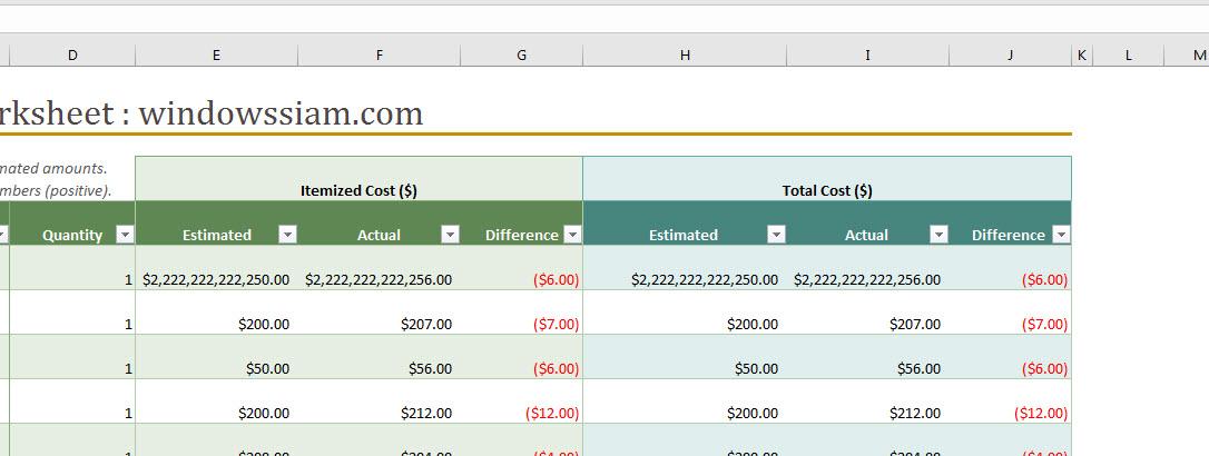 Excel แสดง ###-3