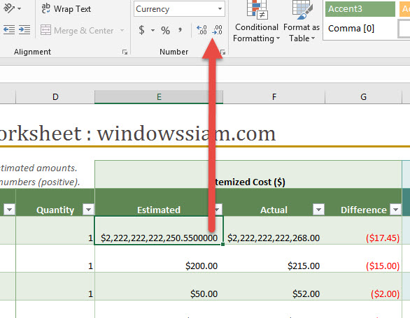 Excel แสดง ###-4