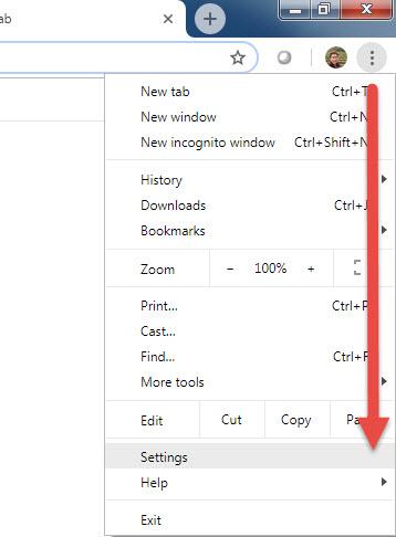 รีเซ็ต Google Chrome