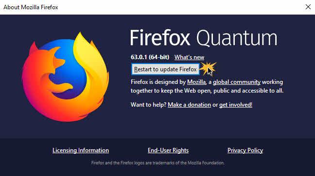แก้ไขปัญหา Firefox ค้างและช้า-5
