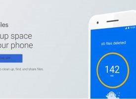 Files Go แอปลบขยะของ Android พัฒนาจาก Google