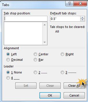 การใช้ Tab Microsoft Word อย่างฉลาด-4