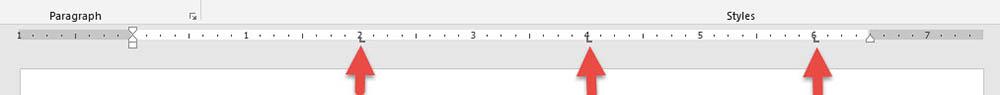 การใช้ Tab Microsoft Word อย่างฉลาด-7