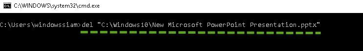 ลบไฟล์ Windows 10-6