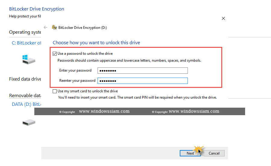 BitLocker Drive Encryption Windows 10-2