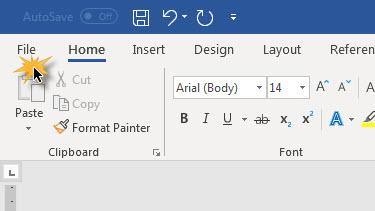 ลดขนาดไฟล์ Microsoft Word-3