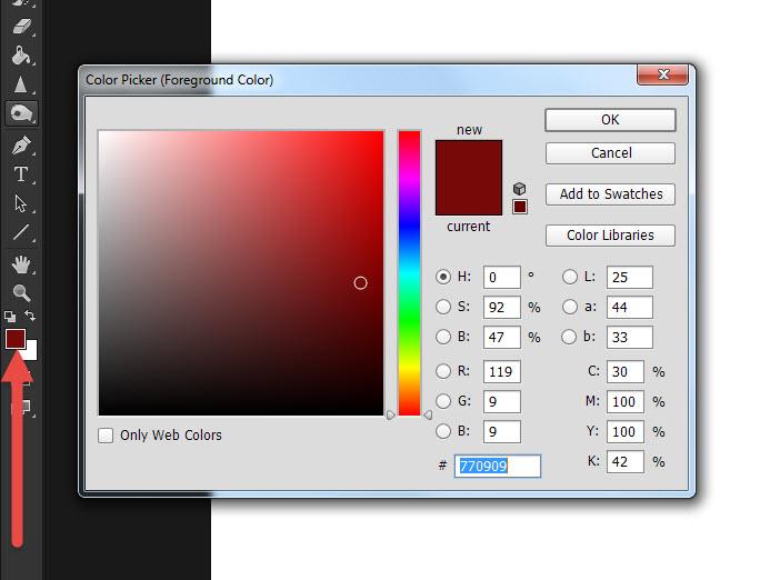 เทสี Photoshop-1