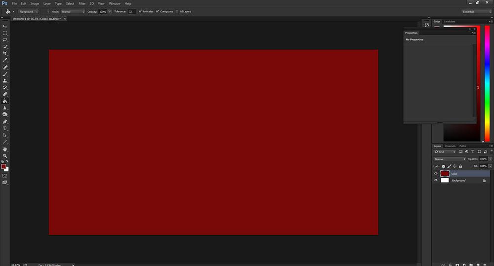 เทสี Photoshop-3