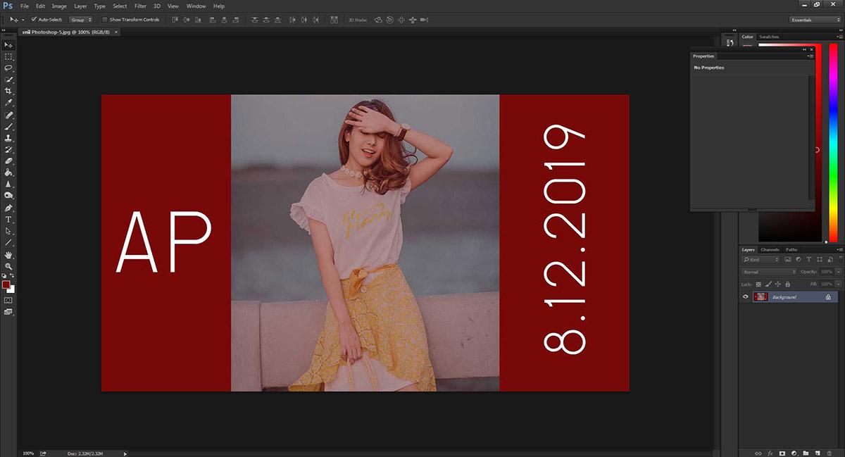 เทสี Photoshop-6
