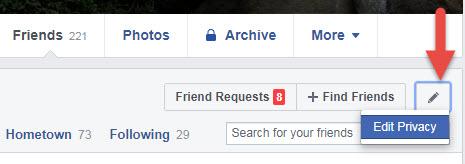 facebook ปรับไม่ให้ใครเห็นเพื่อนเรา-2