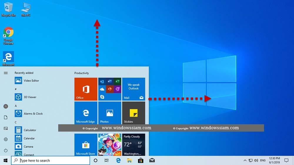 Custom MenuSpace Windows 10-1