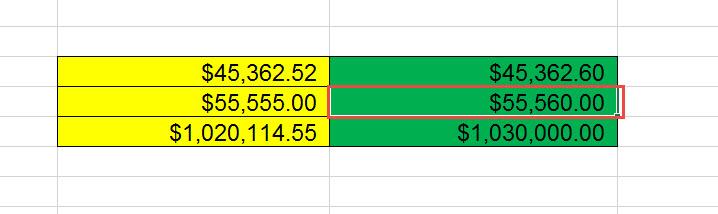 สอน Roundup Excel ปัดเสษ-3.1