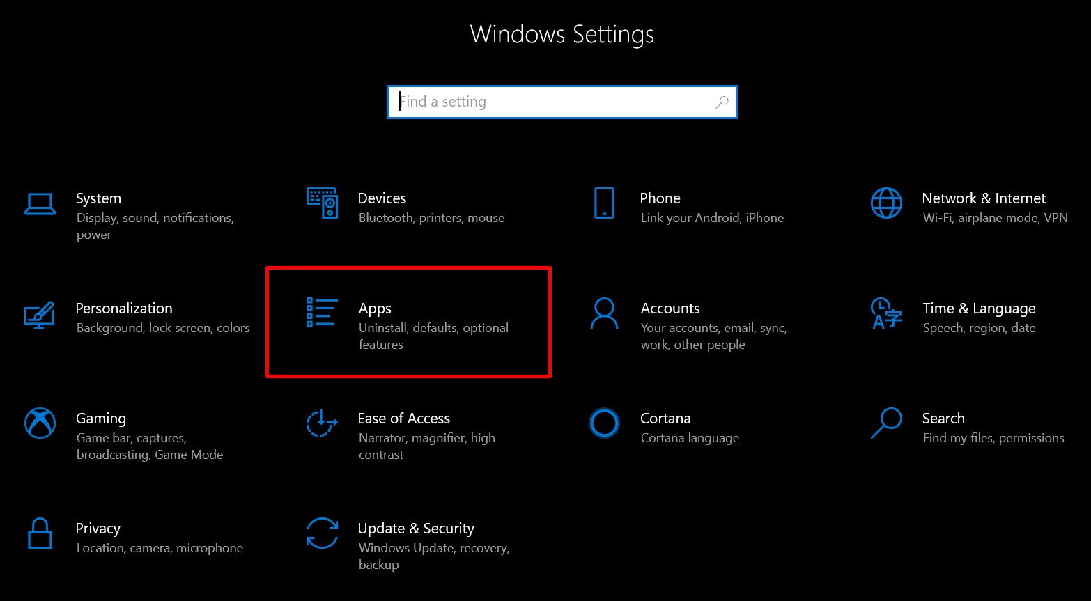 ปรับ default apps Windows 10-2