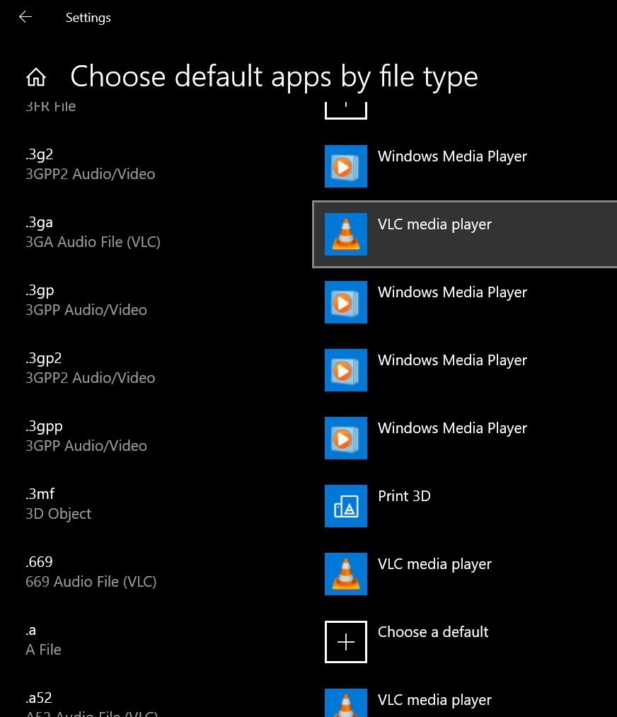 ปรับ default apps Windows 10-4