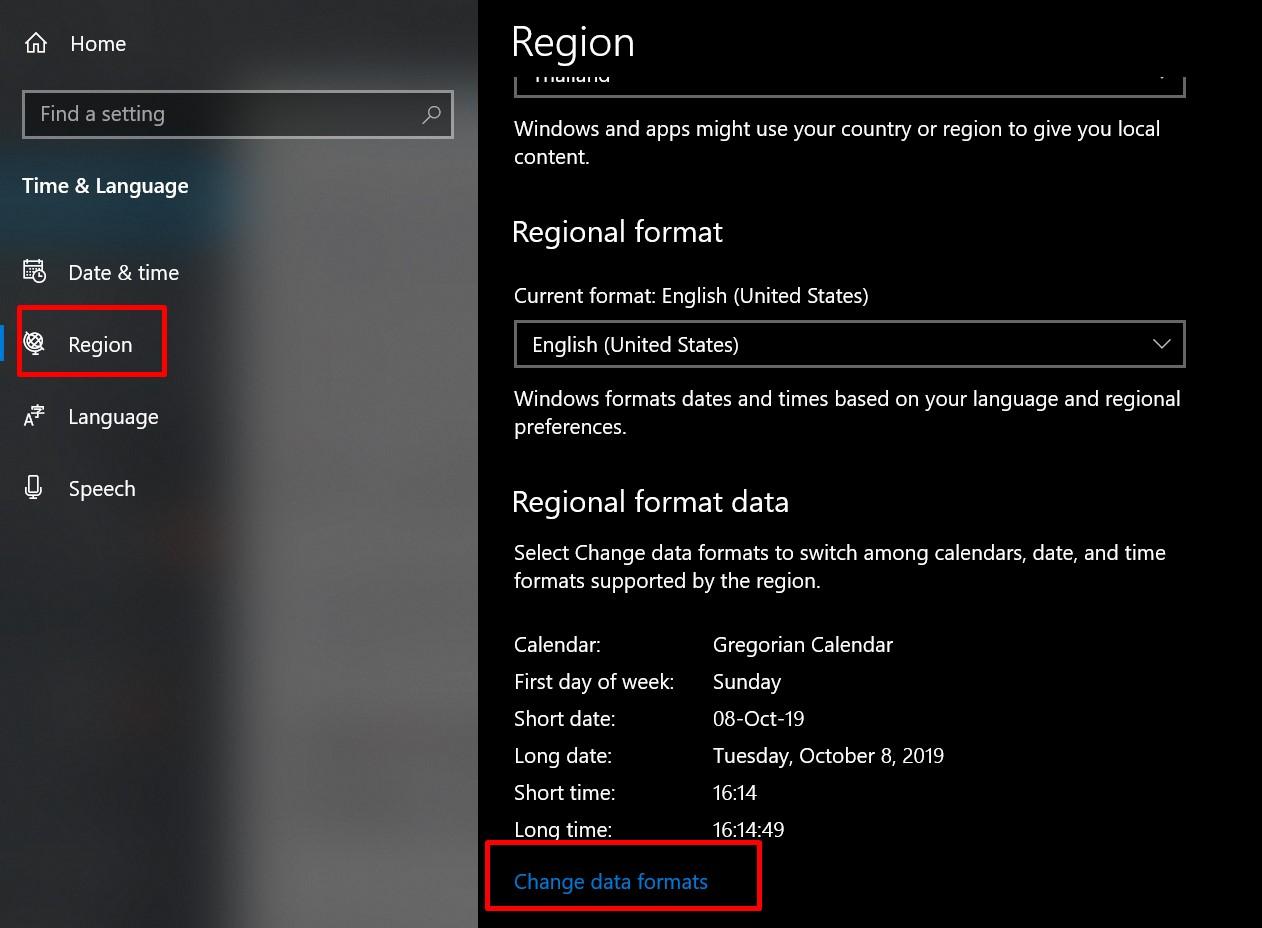 Windows 10 เวลา AM-PM 24 ชั่วโมง-2