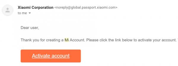 สร้าง Mi Account -3