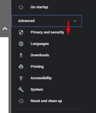 Google Chrome ปิดการแจ้งเตือน -3
