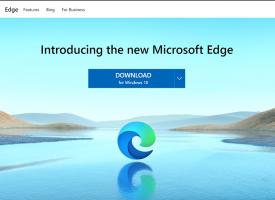 ดาวน์โหลด New Microsoft Edge Windows 10