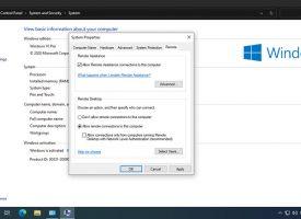 เปิดรีโมท Remote Desktop Windows 10 เข้ามาจัดการคอมพิวเตอร์