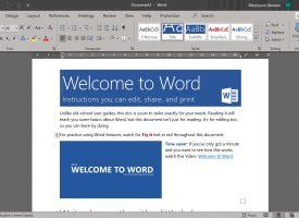 ปรับแนวตั้ง แนวนอน Microsoft Word 365 / 2019