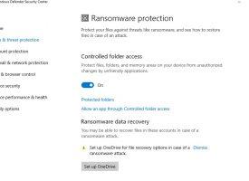Windows 10 เปิดฟังก์ชั่นป้องกัน Ransomware ไวรัสเรียกค่าไถ่