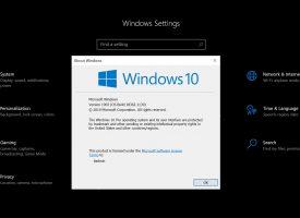 วิธีดูเวอร์ชั่น Windows 10 ว่าตอนนี้เราใช้ Version ไหน