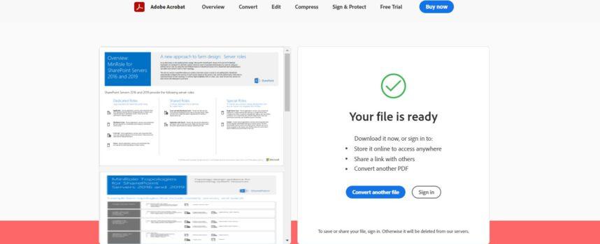 แปลงไฟล์ PDF เป็น WORD ออนไลน์ โดยไม่ต้องลงโปรแกรมในเครื่อง