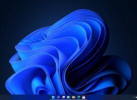 ปรับเมนูบาร์ให้อยู่ตรงกลางหรือซ้ายสุด Windows 11